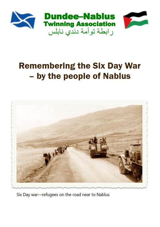 Remembering the Six Day War - by the people of Nablus