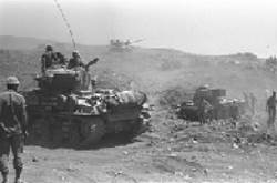 Tanks during the war