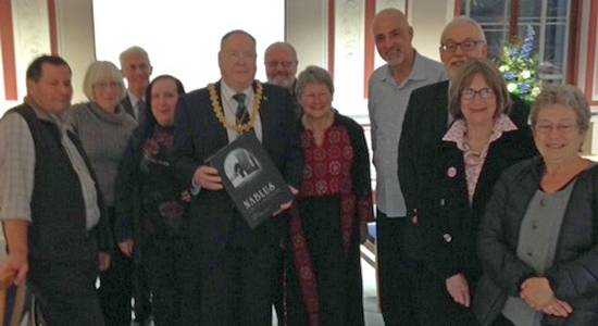 Lord Provost of Dundee, Naseer Arafat and DNTA members
